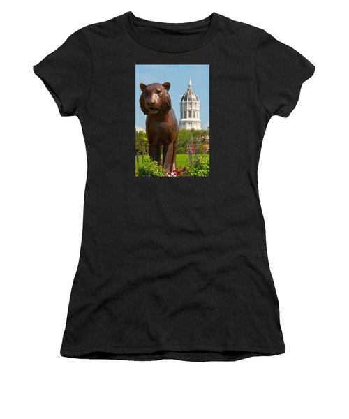 Mizzou Women's T-Shirt (Junior Cut) by Steve Stuller
