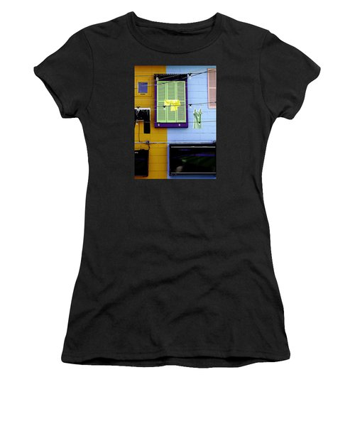 Women's T-Shirt (Junior Cut) featuring the photograph Mke Brz by Michael Nowotny
