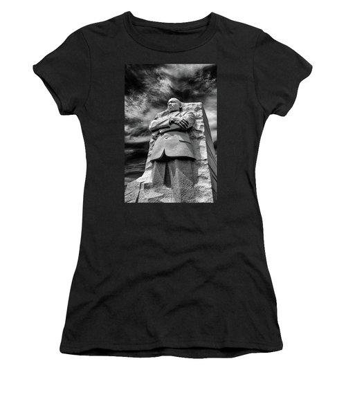 Mlk Memorial Women's T-Shirt (Junior Cut) by Paul Seymour