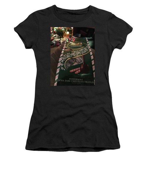 Mmmmmmmm.... Women's T-Shirt (Athletic Fit)