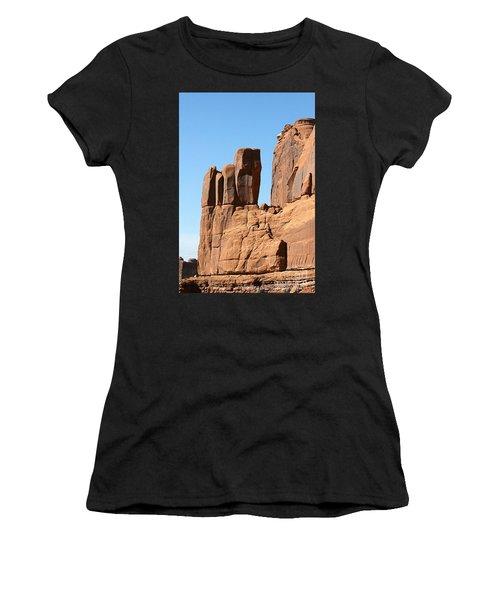 Moab Rocks Women's T-Shirt (Athletic Fit)