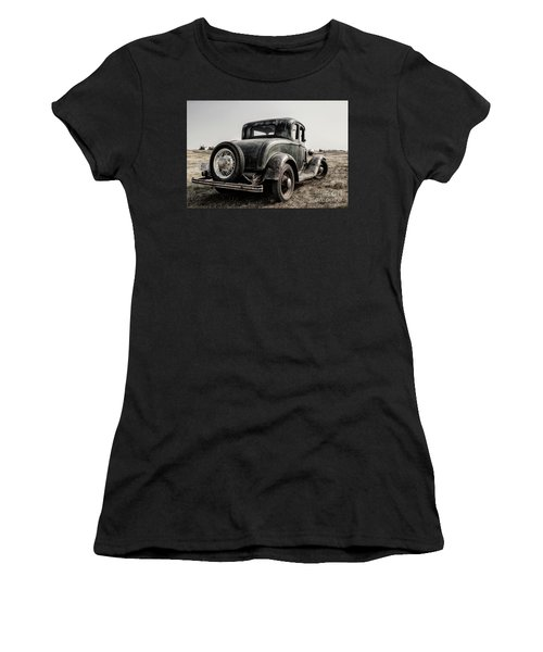 Women's T-Shirt (Athletic Fit) featuring the photograph Model A by Brad Allen Fine Art
