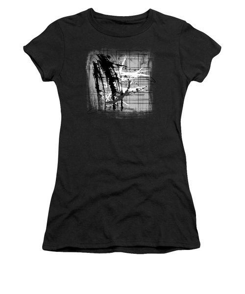 Modern Black And White 2 Women's T-Shirt