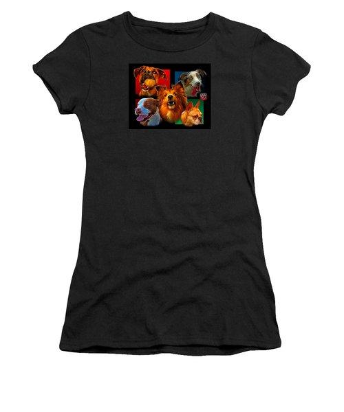 Modern Dog Art - 0001 Women's T-Shirt