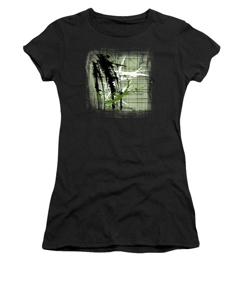Modern Green Women's T-Shirt (Athletic Fit)