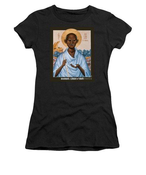 Mohandas Gandhi - Rlmog Women's T-Shirt