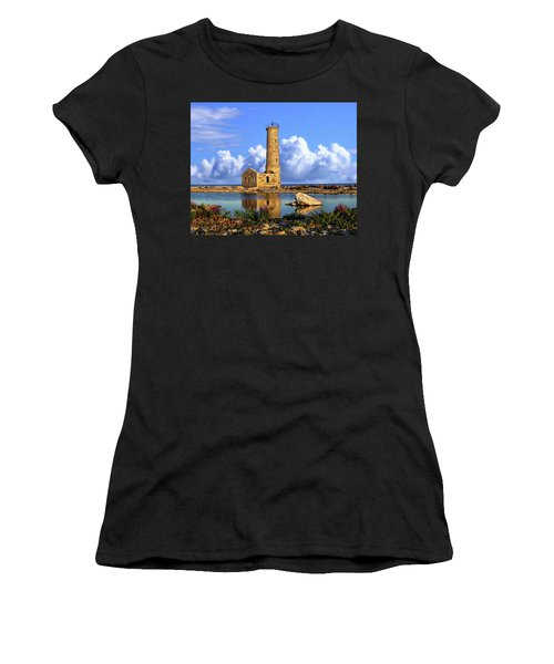Mohawk Island Lighthouse Women's T-Shirt (Athletic Fit)