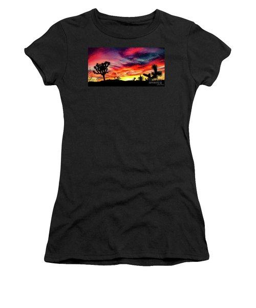 Mojave Sunset Women's T-Shirt