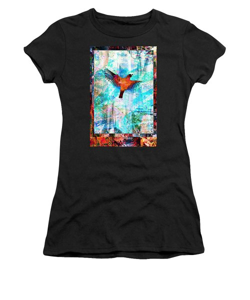 Mom With Worm Women's T-Shirt