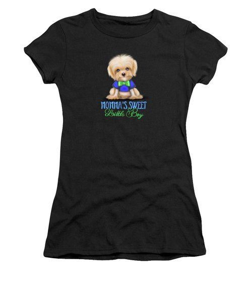 Mommas Sweet Little Boy Women's T-Shirt (Athletic Fit)