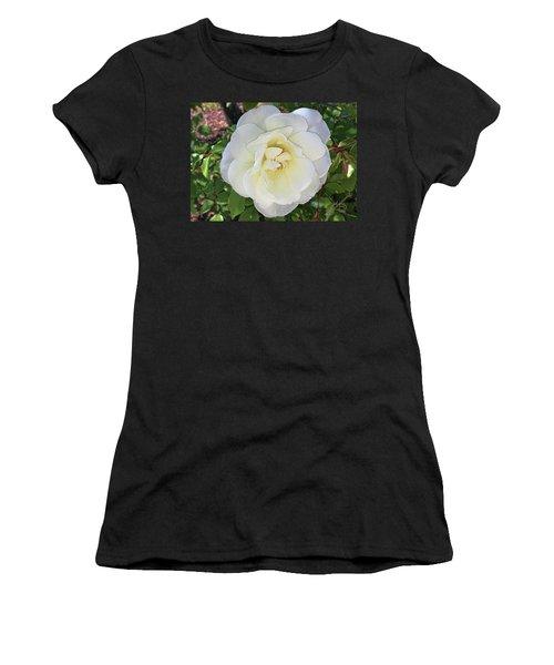 Moms Rose Women's T-Shirt (Junior Cut) by Daniel Hebard