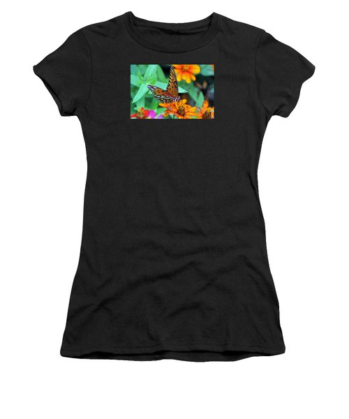 Monarch Butterfly Resting Women's T-Shirt