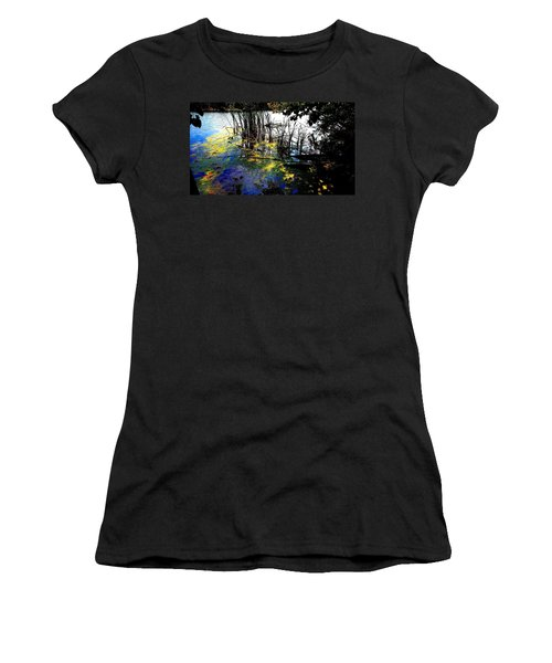 Monet Ice Age Pond Women's T-Shirt (Athletic Fit)
