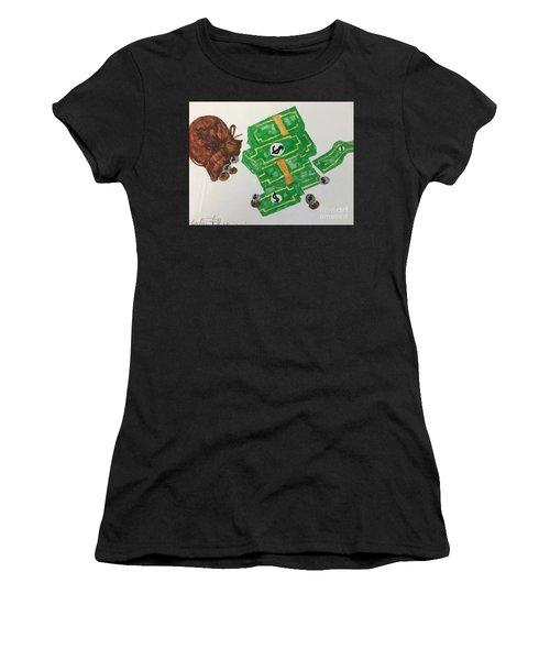 Money  Women's T-Shirt (Athletic Fit)