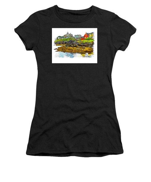 Monhegan West Shore Women's T-Shirt