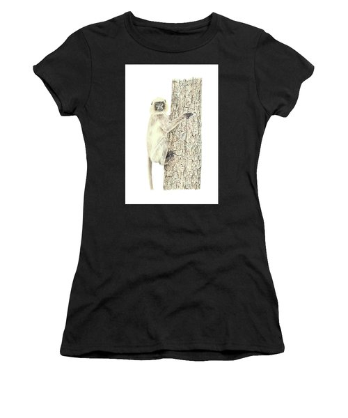 Monkey In The Tree Women's T-Shirt