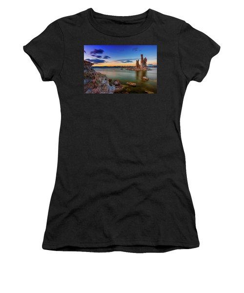 Mono Sunset Women's T-Shirt (Athletic Fit)