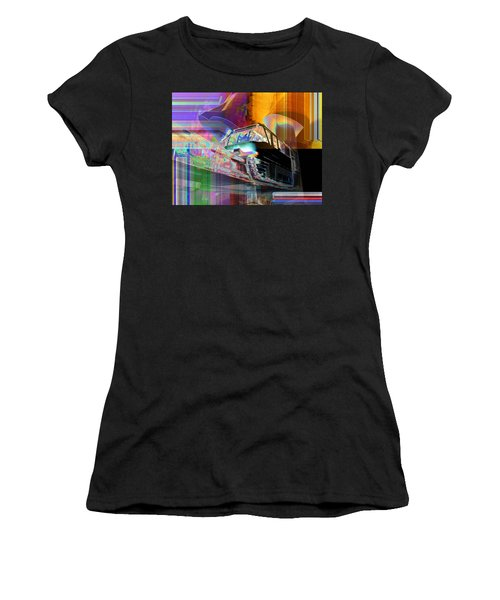Monorail And Emp Women's T-Shirt (Athletic Fit)