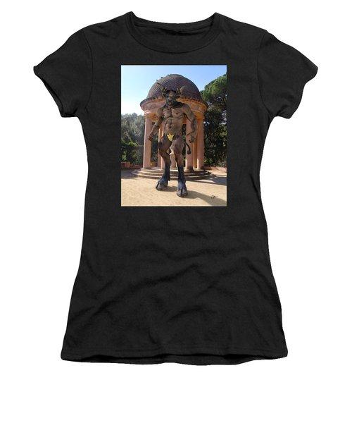 Monster Maze Women's T-Shirt (Junior Cut) by Joaquin Abella