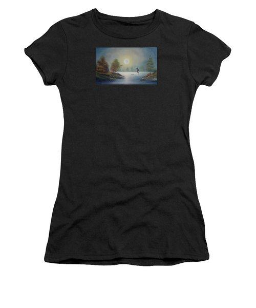 Monstruo Ness Women's T-Shirt (Athletic Fit)