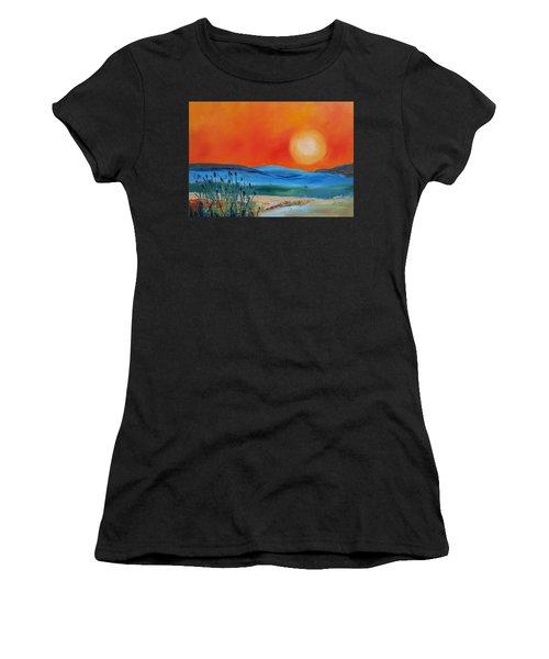 Montana Firery Sunset             49 Women's T-Shirt