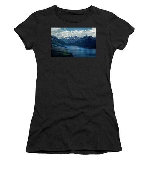 Montana Mountain Vista And Lake Women's T-Shirt