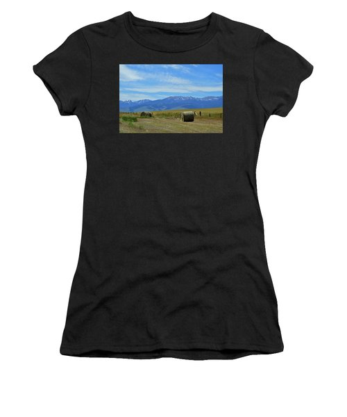 Montana Scene Women's T-Shirt (Athletic Fit)