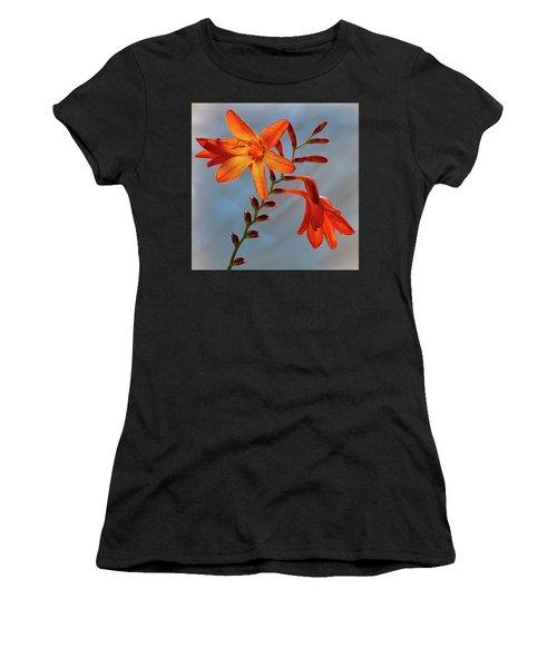 Montbretia 1 Women's T-Shirt (Athletic Fit)