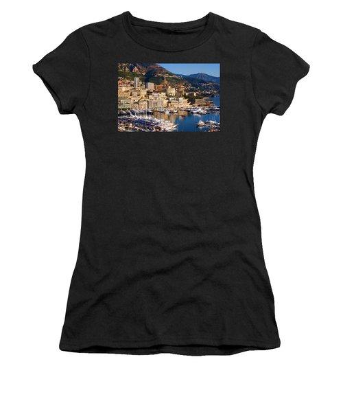 Monte Carlo Women's T-Shirt (Junior Cut) by Tom Prendergast