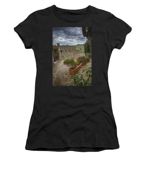 Montefioralle Tuscany 4 Women's T-Shirt