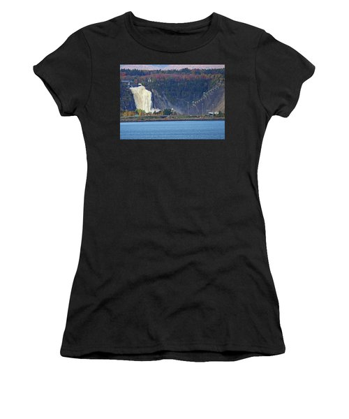 Montmorency Falls Women's T-Shirt (Athletic Fit)