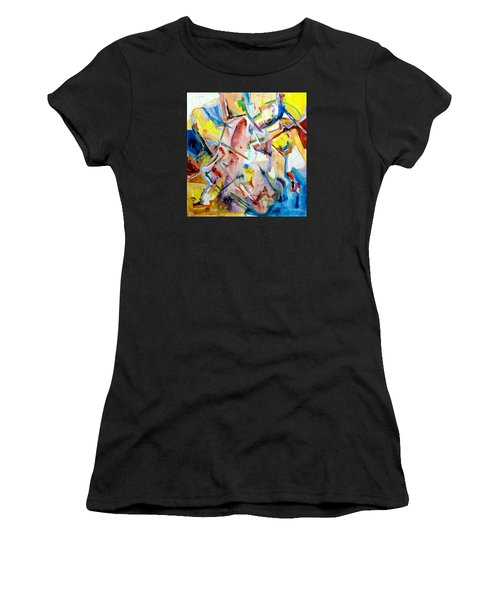 Monument To Aboutness Women's T-Shirt (Athletic Fit)