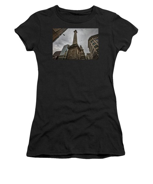 Monument To The Great Fire Of London Women's T-Shirt