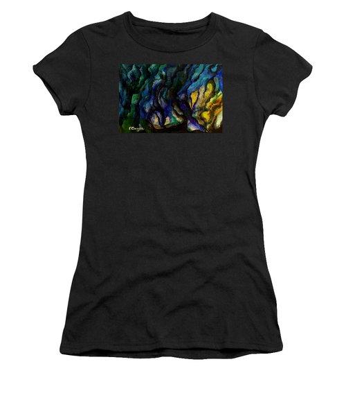 Moody Bleu Women's T-Shirt