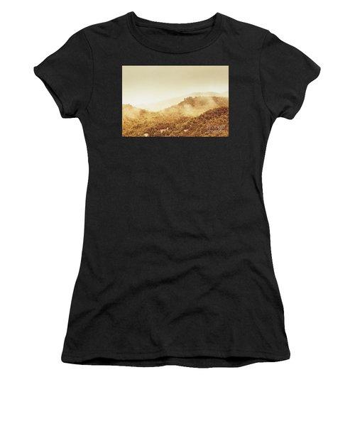 Moody Mountain Morning Women's T-Shirt