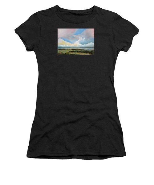 Moody Skies Women's T-Shirt (Athletic Fit)
