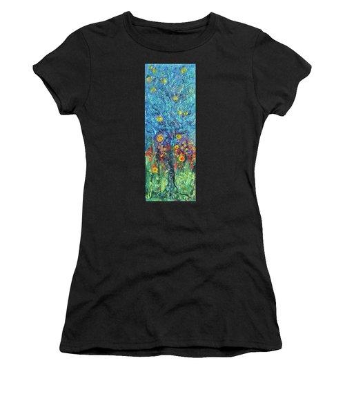 Moon Flowers Women's T-Shirt