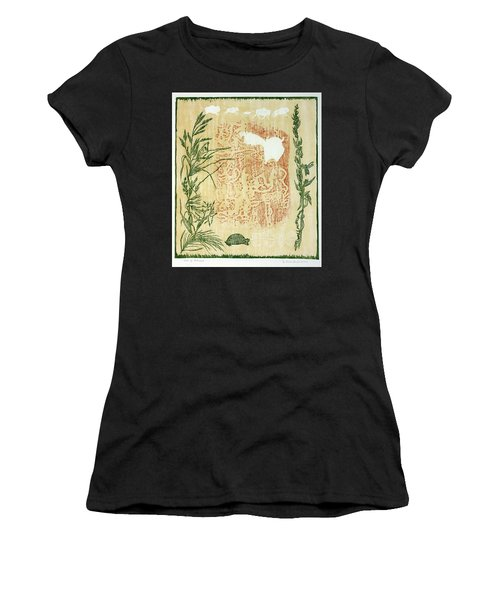 Moon Of Fatness Women's T-Shirt (Athletic Fit)