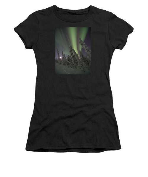 Moon On The Hill Women's T-Shirt