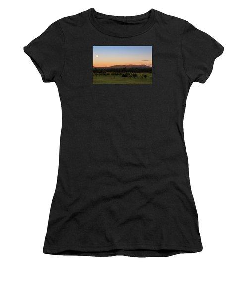 Moon Over Mount Tom Women's T-Shirt