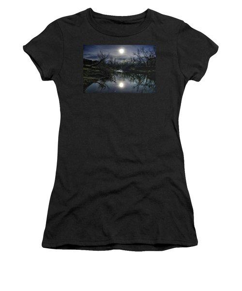 Moon Over Sand Creek Women's T-Shirt