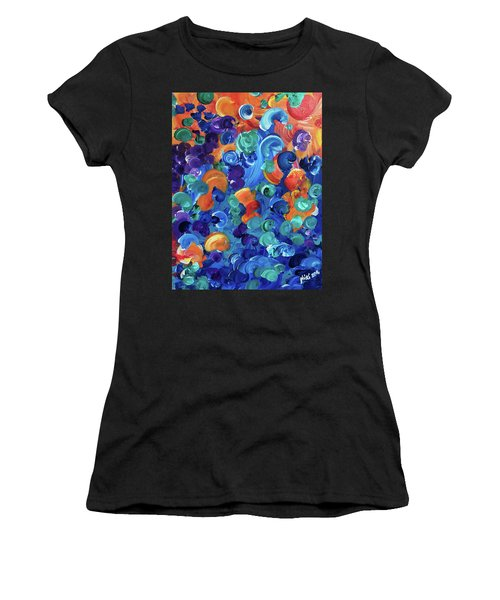 Moon Snails Back To School Women's T-Shirt (Athletic Fit)