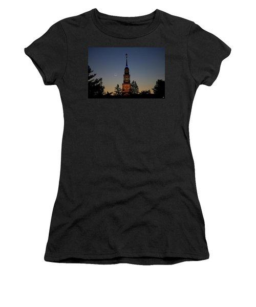 Moon, Venus, And Miller Tower Women's T-Shirt