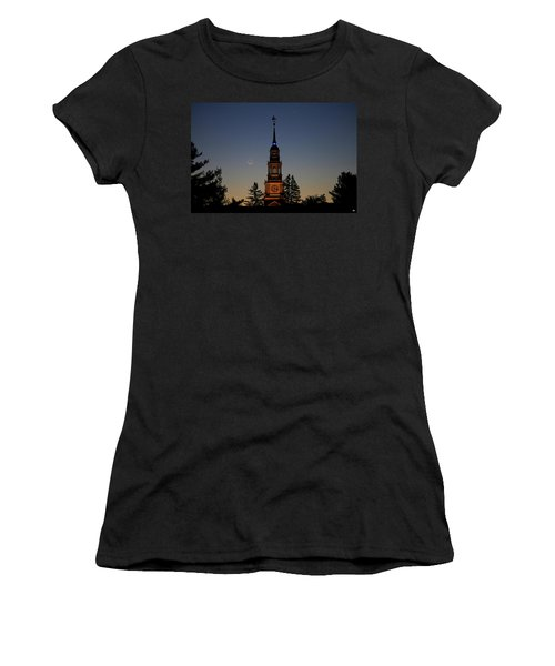 Moon, Venus, And Miller Tower Women's T-Shirt (Athletic Fit)