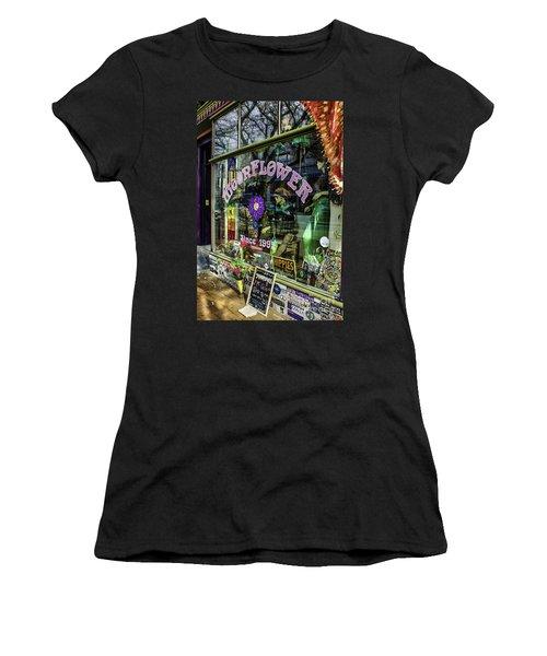 Moonflower Boutique Women's T-Shirt (Athletic Fit)
