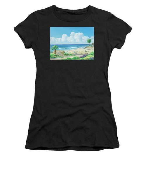 Moonlight Beach Women's T-Shirt