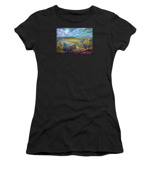 Moonlight Rendezvous Women's T-Shirt