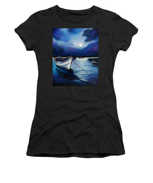 Moonlit Women's T-Shirt (Athletic Fit)