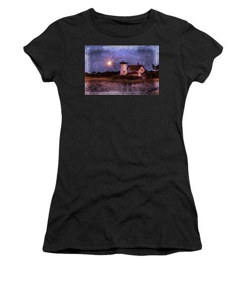Moonlit Harbor Women's T-Shirt (Junior Cut)