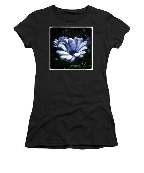 Women's T-Shirt featuring the photograph Moonlit Petals. From The Beautiful by Mr Photojimsf